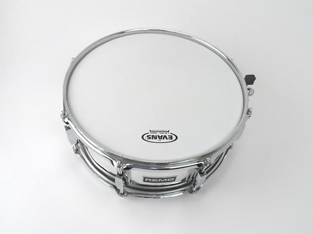remo usa quadura 5 5 x 14 snare drum 8 lug chrome w new reverb. Black Bedroom Furniture Sets. Home Design Ideas