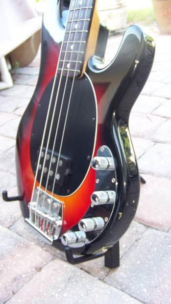 1993 ernie ball musicman sting ray bass guitar with flea reverb. Black Bedroom Furniture Sets. Home Design Ideas