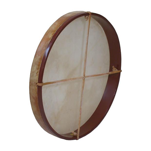 dobani pretuned goatskin head wood frame drum w beater reverb. Black Bedroom Furniture Sets. Home Design Ideas