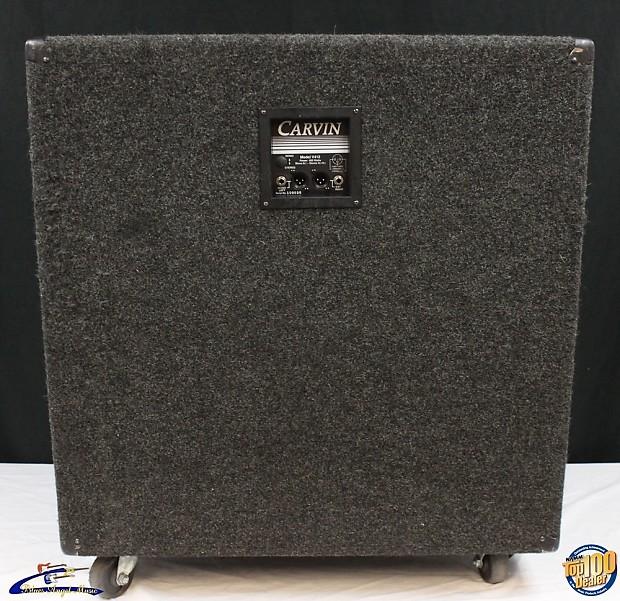 carvin v412 4x12 guitar amplifier speaker cabinet works reverb. Black Bedroom Furniture Sets. Home Design Ideas