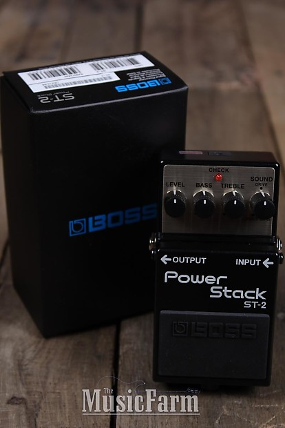 boss st 2 power stack distortion electric guitar effects reverb. Black Bedroom Furniture Sets. Home Design Ideas