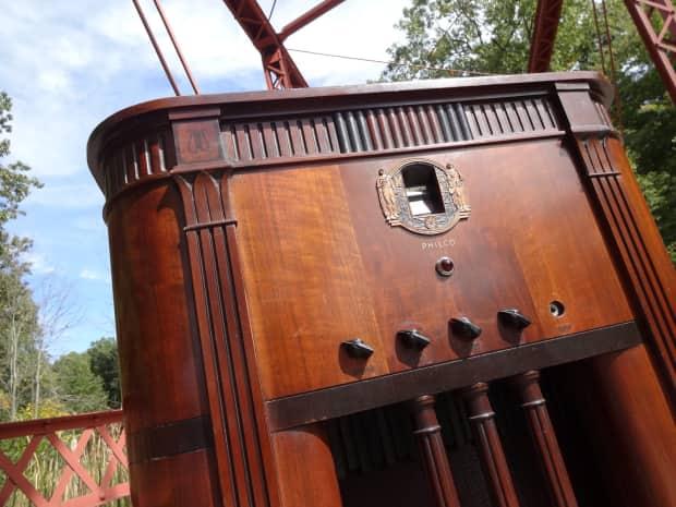 d lab philco console radio tube guitar amp 1930 39 s wood reverb. Black Bedroom Furniture Sets. Home Design Ideas