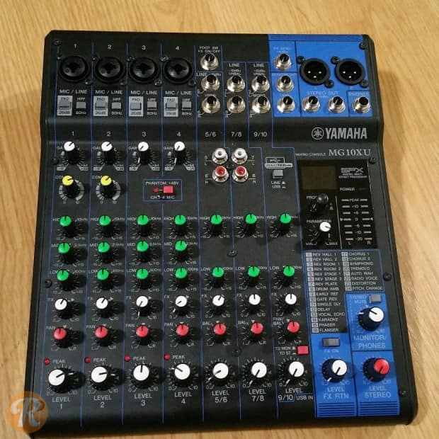 yamaha mg10xu analog mixer reverb. Black Bedroom Furniture Sets. Home Design Ideas
