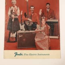 Fender Catalog 1960-61 Case Candy Telecaster Stratocaster Jazzmaster Jaguar image
