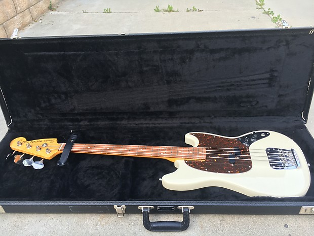 mint condition fender mustang bass crafted in japan reverb. Black Bedroom Furniture Sets. Home Design Ideas