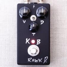 Rawk D King of Blues  Bluesbreaker Point To Point Clone Overdrive Booster Effects Pedal image