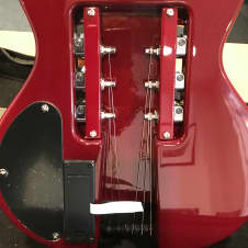 Travel Guitar Escape EG-1 Flame Top Wine Red image
