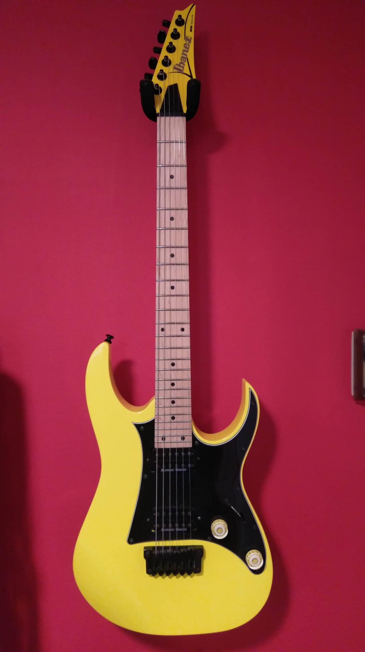 ibanez rg331m guitar with seymour duncan black winter pickups reverb. Black Bedroom Furniture Sets. Home Design Ideas