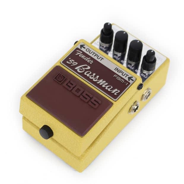boss fbm 1 fender 39 59 bassman legend series pedal reverb. Black Bedroom Furniture Sets. Home Design Ideas