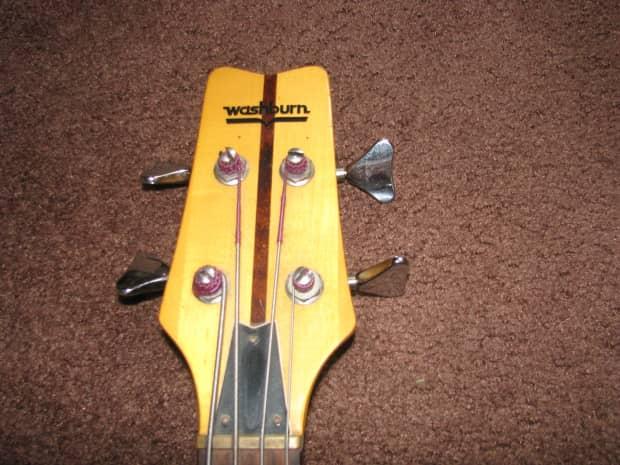 vintage washburn vulture wing series electric bass guitar reverb. Black Bedroom Furniture Sets. Home Design Ideas
