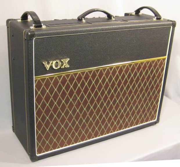 vox ac30c2x guitar combo tube amp 2x12 with cover reverb. Black Bedroom Furniture Sets. Home Design Ideas