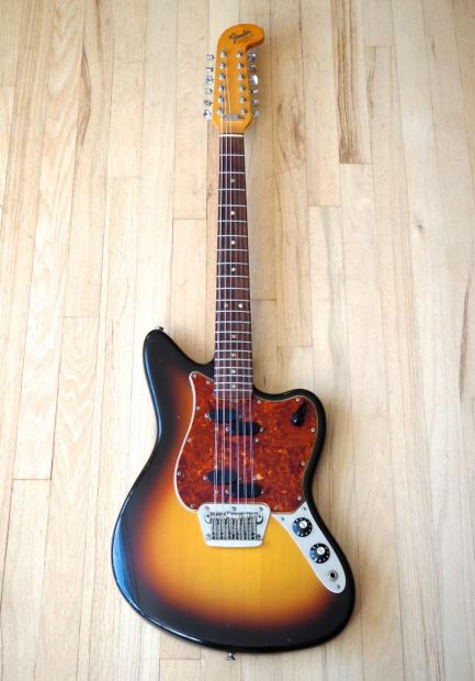 1966 fender electric xii vintage 12 string electric guitar near mint 100 stock early 39 66. Black Bedroom Furniture Sets. Home Design Ideas