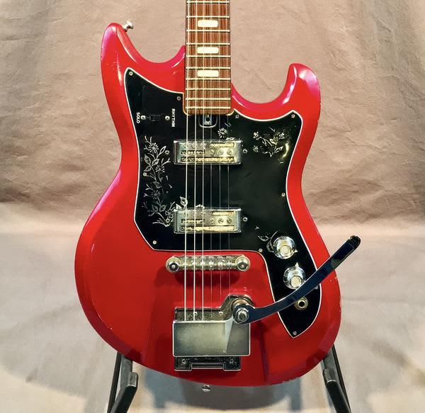 teisco 1962 spectrum et 220 electric guitar vintage reverb. Black Bedroom Furniture Sets. Home Design Ideas
