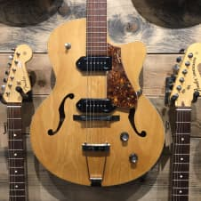 Godin 5th Avenue Kingpin II P90 Archtop Hollowbody Natural image