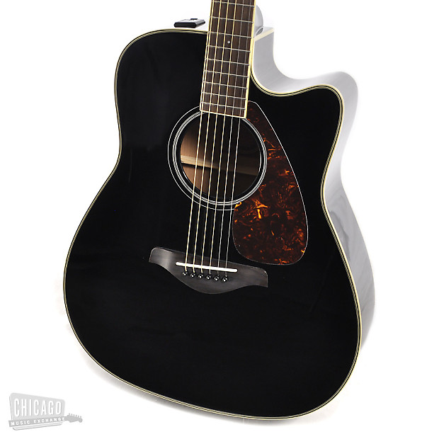 Yamaha fg series fgx720sca acoustic electric black reverb for Yamaha fgx720sca price