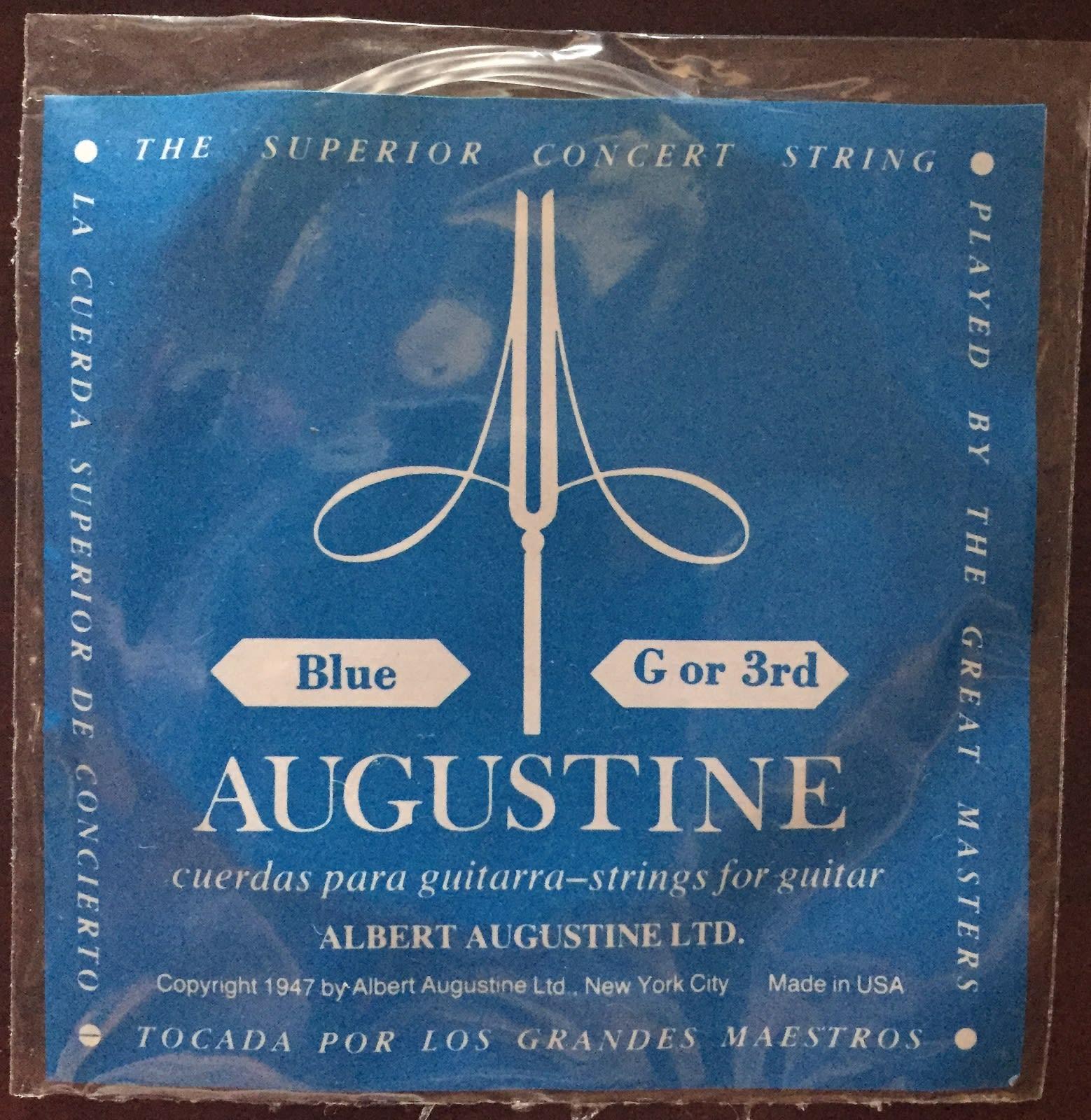 Augustine Blue - 3rd string (G)