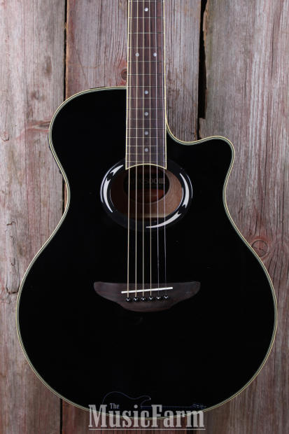 yamaha apx 500 thinline acoustic electric guitar rw fretboard black apx500iii bl reverb. Black Bedroom Furniture Sets. Home Design Ideas