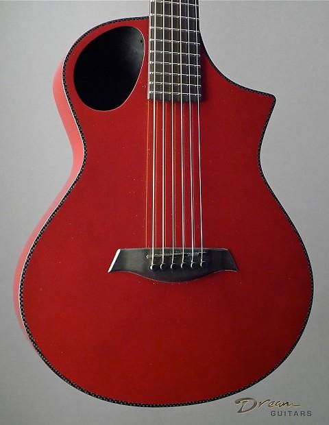 Composite Acoustics Guitar : composite acoustics cargo hg red with electronics travel reverb ~ Russianpoet.info Haus und Dekorationen
