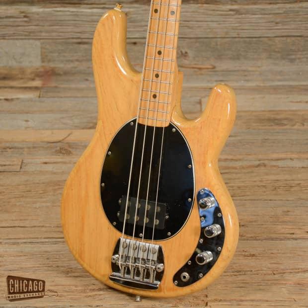 musicman stingray bass natural 1978 s488 reverb. Black Bedroom Furniture Sets. Home Design Ideas