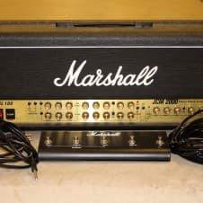 Marshall JCM2000 TSL 100 Triple Super Lead Amplifier Head Guitar Tube Amp Footsw image