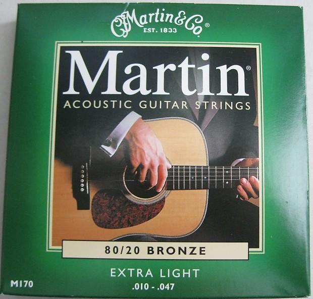 Martin M170 Bronze Acoustic Guitar Strings Reverb