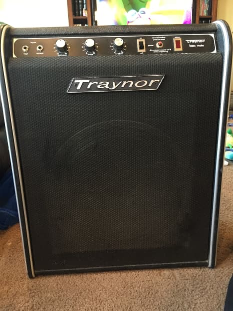 Vintage traynor amplifiers with you