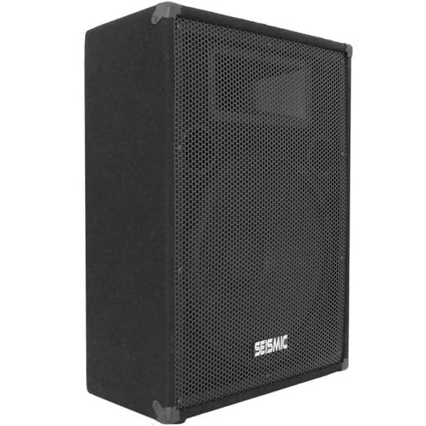New seismic audio 15 floor monitor stage pa dj speaker for 15 floor speakers