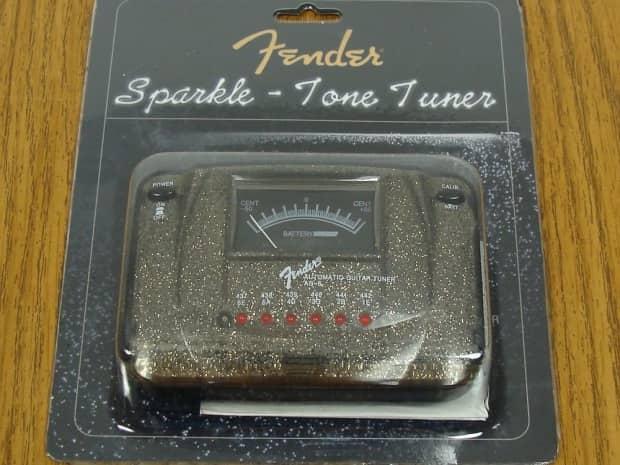 new fender ag 6 sparkle tone automatic tuner black sparkle reverb. Black Bedroom Furniture Sets. Home Design Ideas