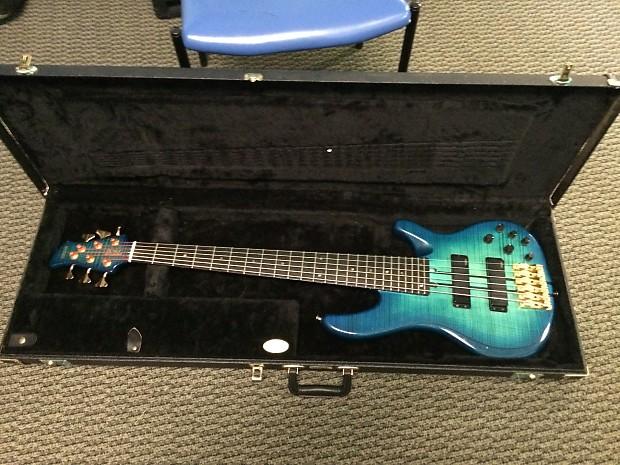 Yamaha trb6pii 6 string electric bass w ohsc reverb for Yamaha 6 string bass