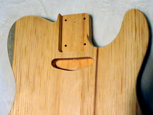 1 piece aged pine telecaster tele body 3lbs 14oz standard reverb. Black Bedroom Furniture Sets. Home Design Ideas