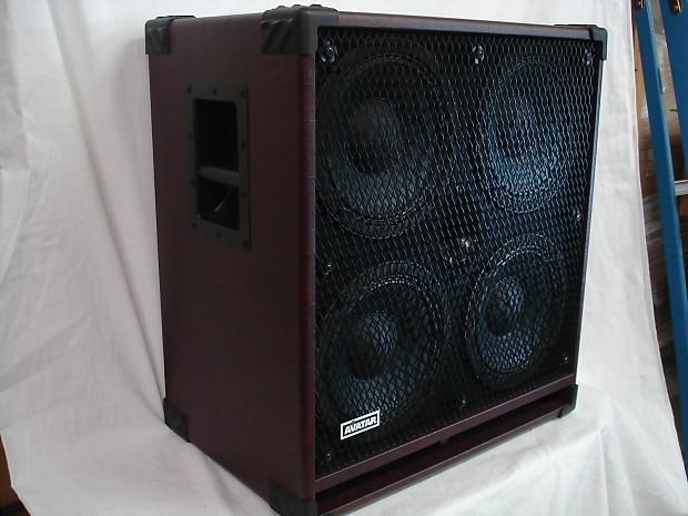avatar b410 burgundy metal bass guitar speaker cabinet reverb. Black Bedroom Furniture Sets. Home Design Ideas