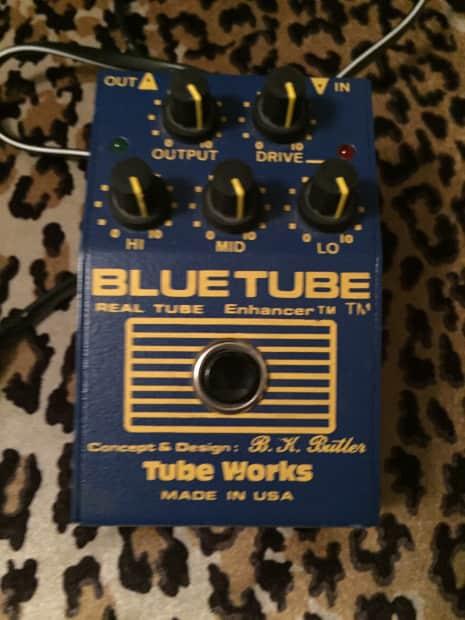 tone works blue tube guitar bass keyboard effect pedal blue reverb. Black Bedroom Furniture Sets. Home Design Ideas