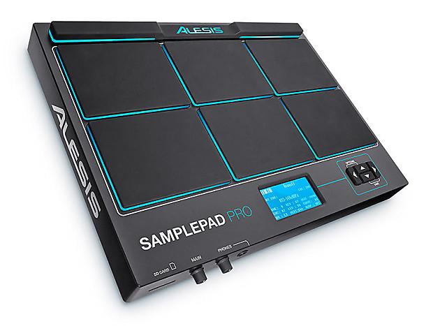 alesis samplepad pro multi pad sample instrument reverb. Black Bedroom Furniture Sets. Home Design Ideas