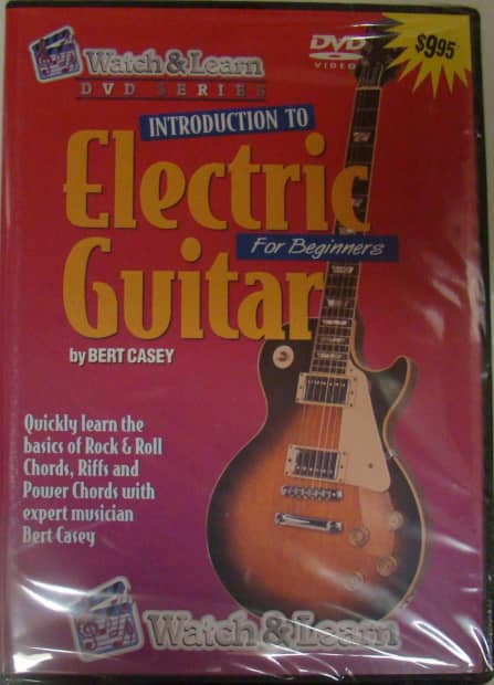 introduction to electric guitar for beginners by bert casey reverb. Black Bedroom Furniture Sets. Home Design Ideas