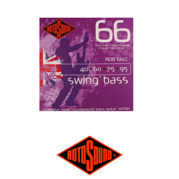 rotosound double ball end bass strings medium reverb. Black Bedroom Furniture Sets. Home Design Ideas