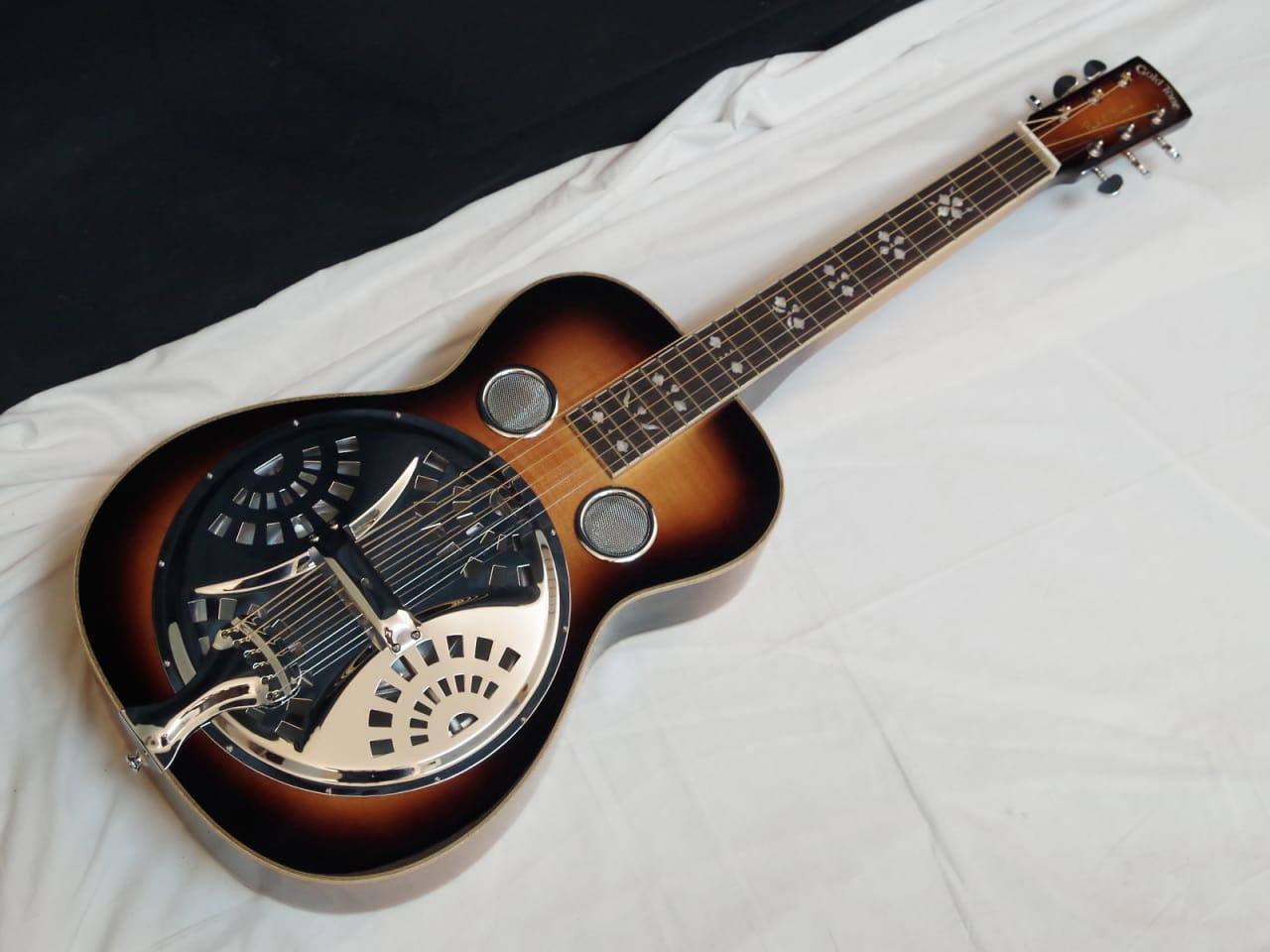 Gold Tone Pbs D Paul Beard Square Neck Deluxe Resonator Reverb