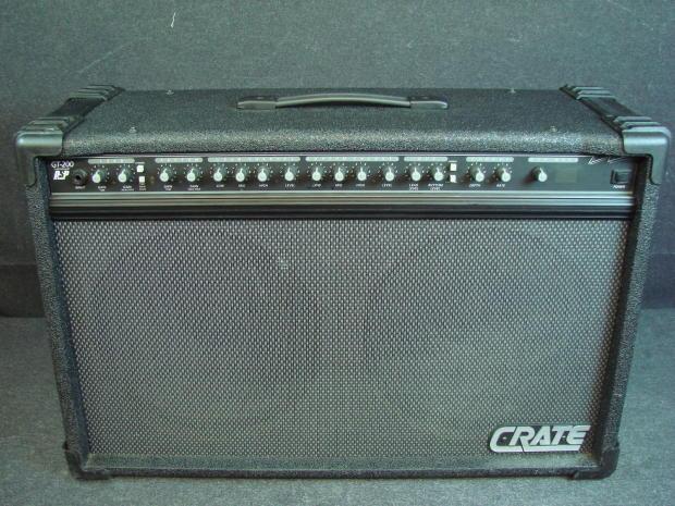 crate gt200 2x12 amplifier combo vinyl amp cover ebay. Black Bedroom Furniture Sets. Home Design Ideas