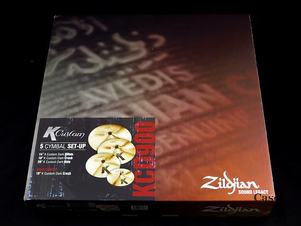 zildjian kcd900 k custom dark 5 cymbal pack reverb. Black Bedroom Furniture Sets. Home Design Ideas