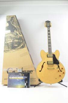 Epiphone Sheraton II Archtop Electric Guitar - Natural - In Epiphone Box image
