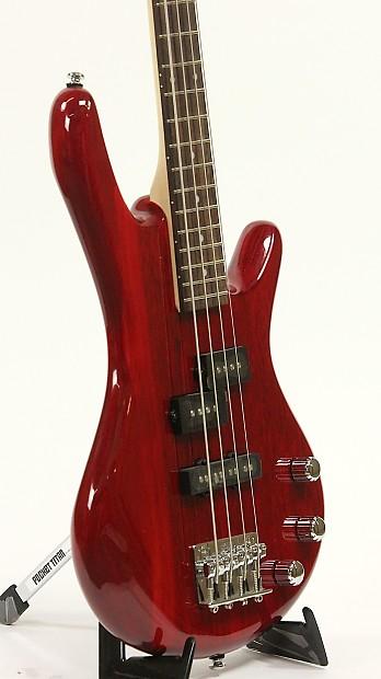 ibanez mikro gsrm20 tr transparent red bass guitar reverb. Black Bedroom Furniture Sets. Home Design Ideas