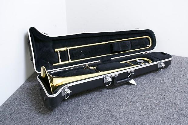 yamaha ysl 354 trombone w case reverb