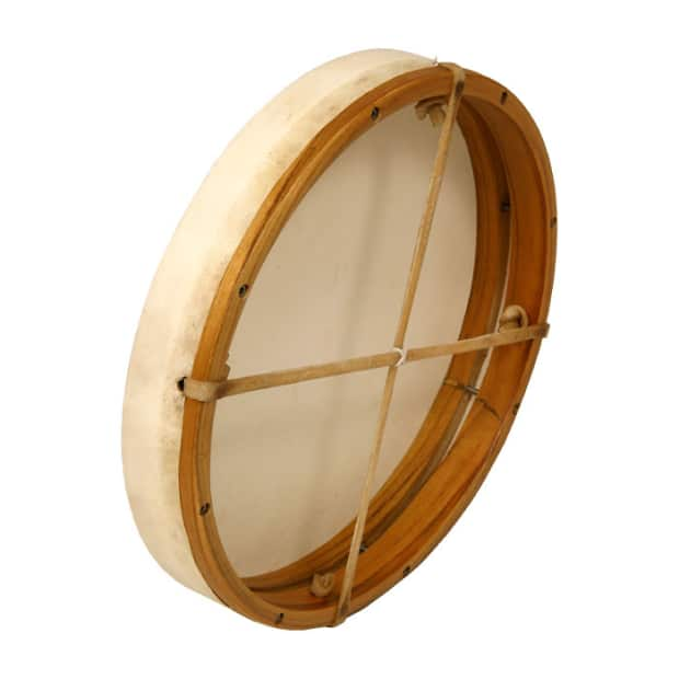 dobani tunable goatskin head wooden frame drum w beater reverb. Black Bedroom Furniture Sets. Home Design Ideas