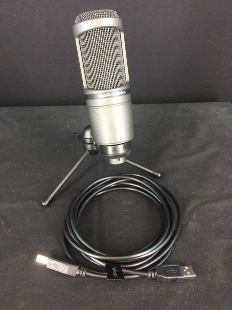 audio technica at2020 usb cardioid condenser microphone. Black Bedroom Furniture Sets. Home Design Ideas