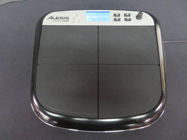 alesis samplepad drum machine sample pad reverb. Black Bedroom Furniture Sets. Home Design Ideas