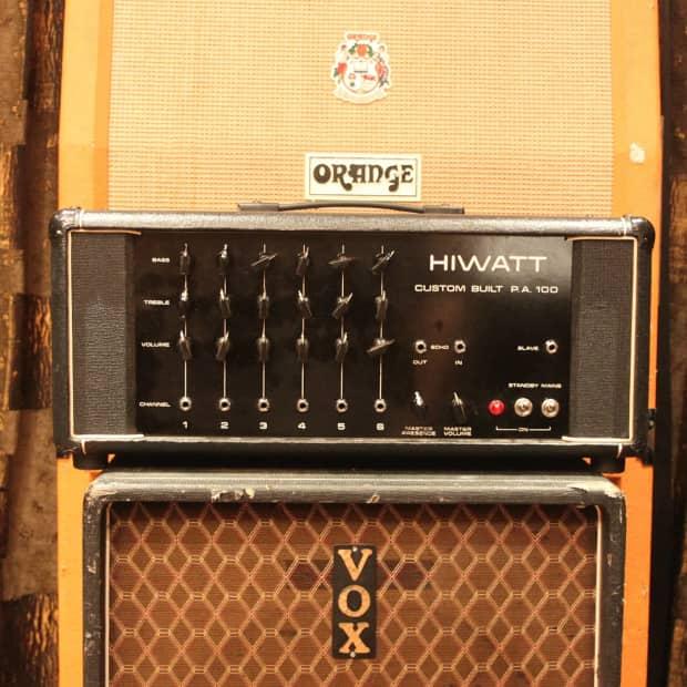 Vintage Hiwatt Amp 32