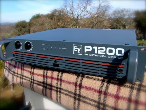 electrovoice p1200 precision series power amplifier ev reverb. Black Bedroom Furniture Sets. Home Design Ideas