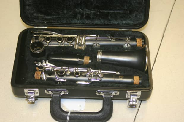 yamaha ycl 250 clarinet good shape free shipping 14 day