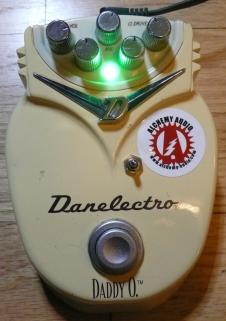 Danelectro Daddy O Distortion Marshall Guv'nor Alchemy Audio Modified Guitar Effects Pedal (B stock) image