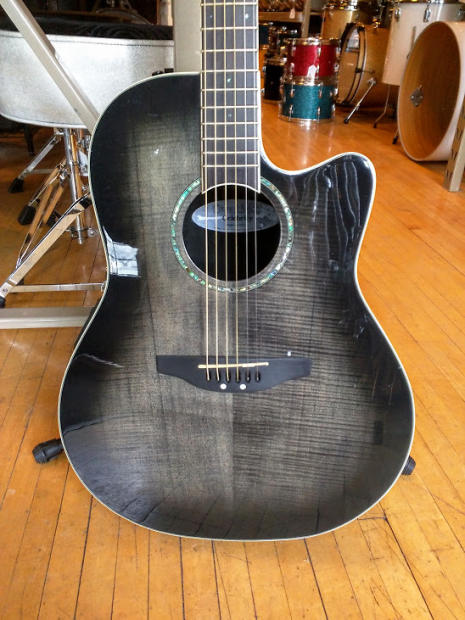 Ovation Celebrity Cc24 Acoustic Electric Guitar Used