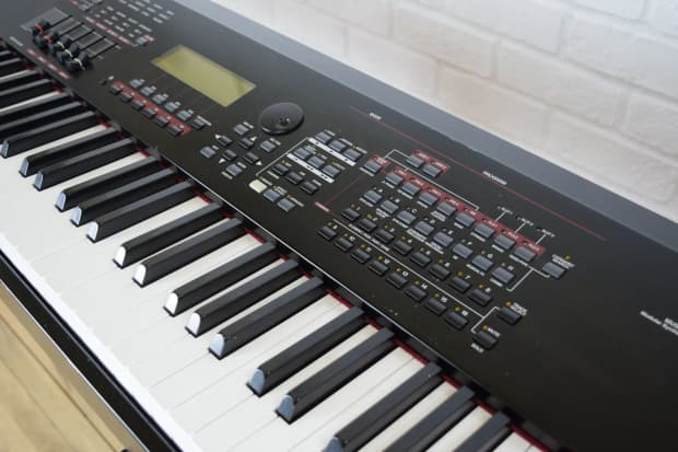 Image Result For Yamaha Keyboard Keys Weighted